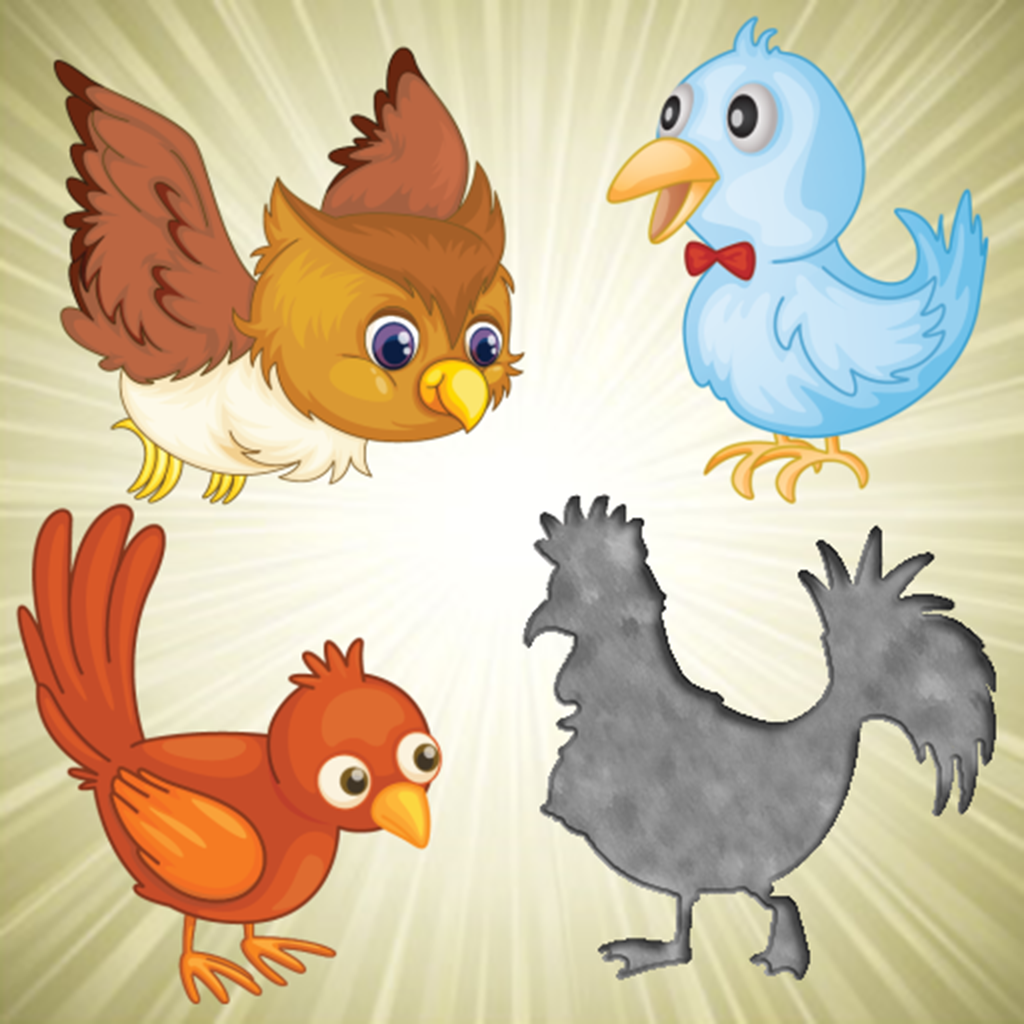 Birds Puzzles for Toddlers and Kids - Educational Puzzle Games